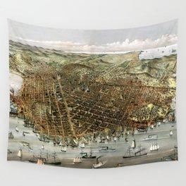 San Francisco-California-United States-1878 Wall Tapestry