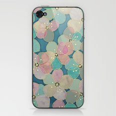 It's Always Summer Somewhere 2 - translucent poppy doodle iPhone & iPod Skin