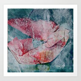 Poppy- JUSTART © Art Print