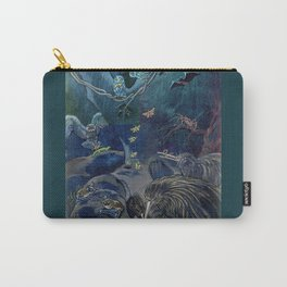 Kiwi, Bats, Morepork and More Carry-All Pouch