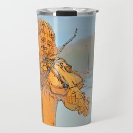 Lament for the sea Travel Mug