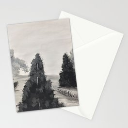 The silver lining Stationery Cards