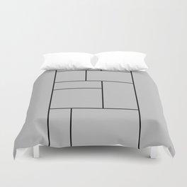 Squares Print Duvet Cover