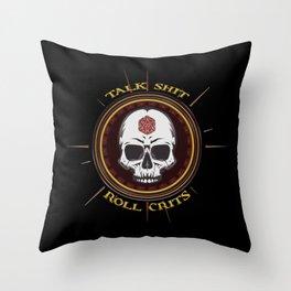 D&D - Roll Crits Throw Pillow