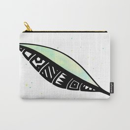 Polynesian Leaf Carry-All Pouch