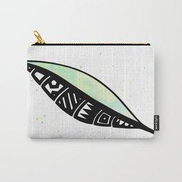 Polynesian Leaf Carry-All Pouch
