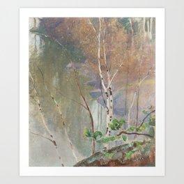 PEKKA HALONEN, SPRING SHORE Art Print