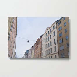 Södermalm (Stockholm, Sweden) Metal Print