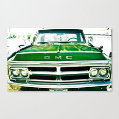 Green GMC Canvas Print