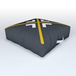 Nautical arrows Outdoor Floor Cushion