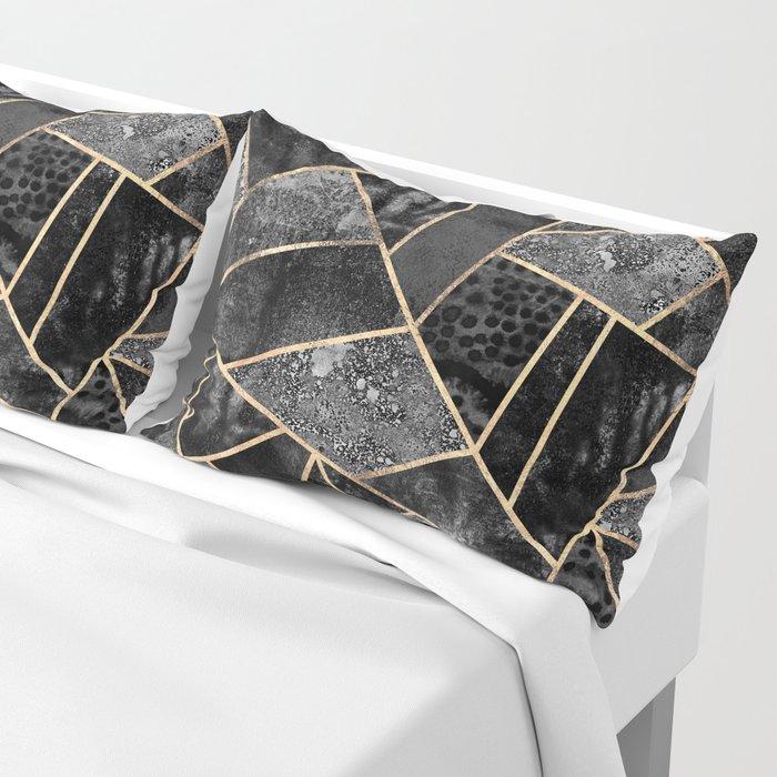 Black Stone 2 Pillow Sham