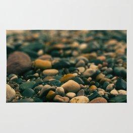 Stones on the beach Rug