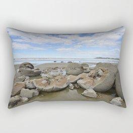 Broken Bolders Rectangular Pillow