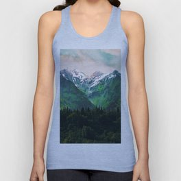 Escaping from woodland heights IV Unisex Tank Top
