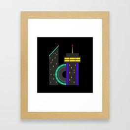 ICT Wichita, KS Framed Art Print