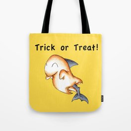 Spooky Shark Tote Bag