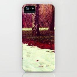 Martian Winter II iPhone Case