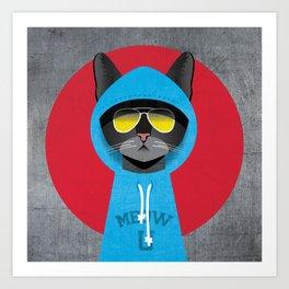 Cool Cat 1 Art Print