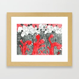 LAMPADINE Framed Art Print