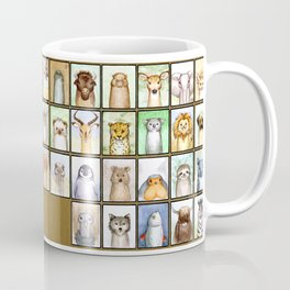Penis Animal Alphabet Chart Coffee Mug