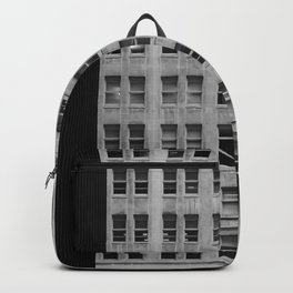 Chicago Downtown Skyscrapers Monochrome Backpack