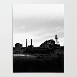 Columbus Georgia Skyline Poster
