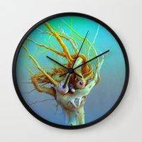 medusa Wall Clocks featuring Medusa by aeolia