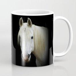 The white Arabian  Coffee Mug