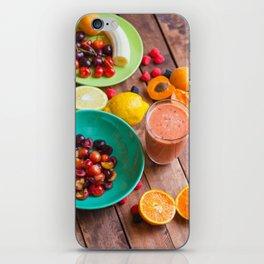Summer Fruits Smoothie iPhone Skin