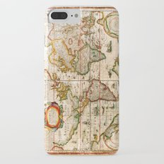 Vintage Map iPhone 7 Plus Slim Case