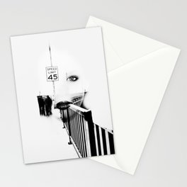 Speed Limit 45 Stationery Cards