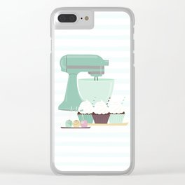 Just Bake Clear iPhone Case