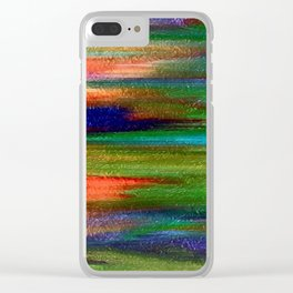 Abs pastel Clear iPhone Case