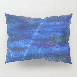 Indigo abstract watercolor background Pillow Sham