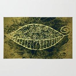 ReLeaf Doodle Gold Rug