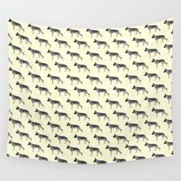 German Shepherd: Tan Sable Wall Tapestry