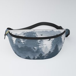 Amazing Forest Morning Nature Photography Fanny Pack