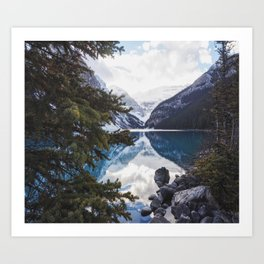 Lake Louise in the Fall Art Print