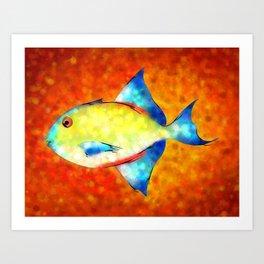 Esperimentoza - gorgeous fish Art Print