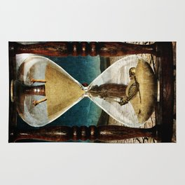Sands of Time ... Memento Mori Rug