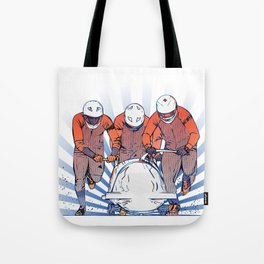 Cool Runnings - Bobsleigh 4 men team Tote Bag