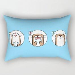 Brain Freeze! Rectangular Pillow