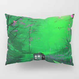 Tardis Stay Lost In The Forest Pillow Sham
