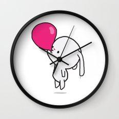 Mononoco with Bubble Gum  Wall Clock