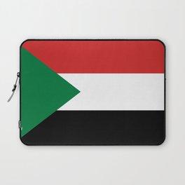 Sudan country flag Laptop Sleeve