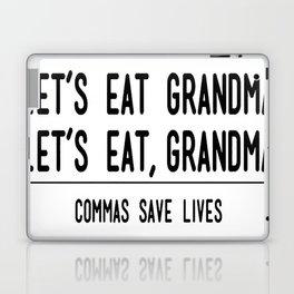 Let's Eat Grandma - Commas Save Lives Laptop & iPad Skin