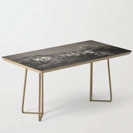Vintage Hollywood sign Coffee Table