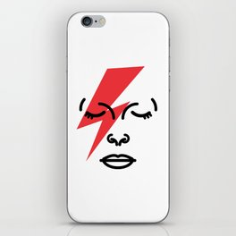 Bye Ziggy Stardust iPhone Skin