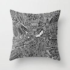 CMJ Music Festival Art 2011 Throw Pillow