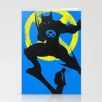 xmen Stationery Cards featuring Xmen - Logan Alter Ego  by Bklounge